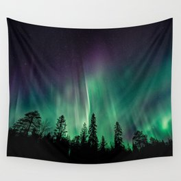 Aurora Borealis (Heavenly Northern Lights) Wall Tapestry