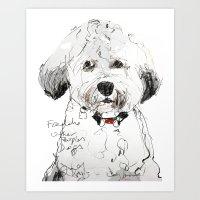 OPD Freddie Art Print