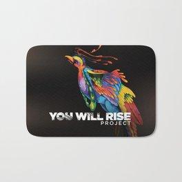 The Phoenix   You Will Rise Bath Mat