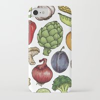 food iPhone & iPod Cases featuring Food by Sam Magee