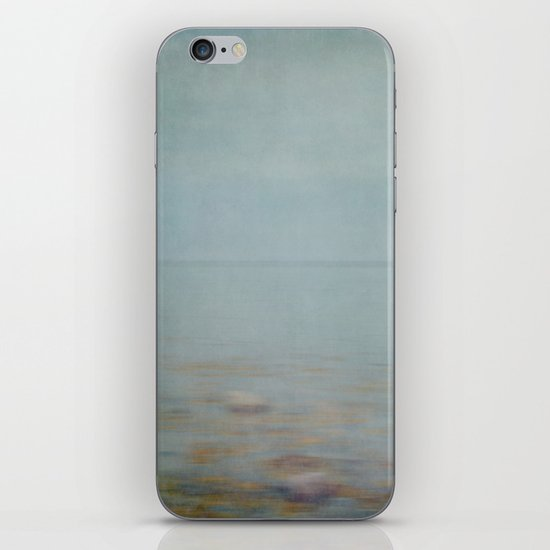 sea square II iPhone & iPod Skin