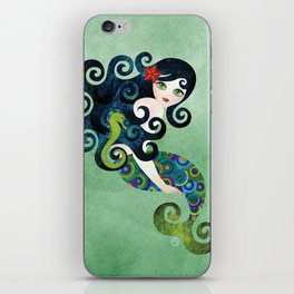 Aquamarine Mermaid iPhone Skin