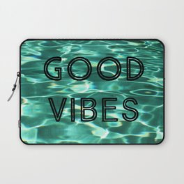 Good Vibes (Pool) Laptop Sleeve