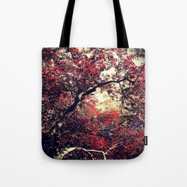 Red is the Tree that Grows Tote Bag