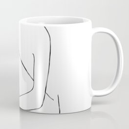 line art 3 Coffee Mug