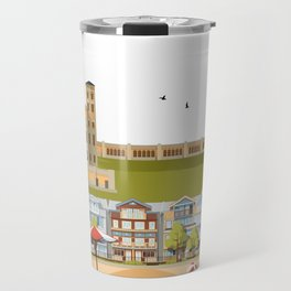 The Beach - Toronto Neighbourhood Travel Mug