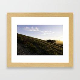 Thousand Oaks Framed Art Print