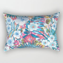 Flower Happiness Rectangular Pillow
