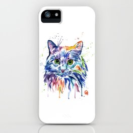 Rainbow Kitty iPhone Case