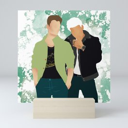 Headstrong Lovers Mini Art Print