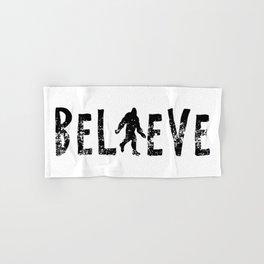 I Believe Yeti Bigfoot Sasquatch Hand & Bath Towel