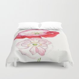 A Delicate Kind Of Love Duvet Cover