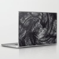 furry Laptop & iPad Skins featuring furry swirl by Matthias Hennig