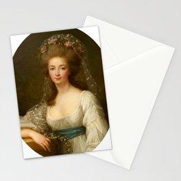 Elisabeth Louise Vigee Le Brun - Princess Elisabeth de Bourbon, Princess of France, 'Madame Elizabet Stationery Cards