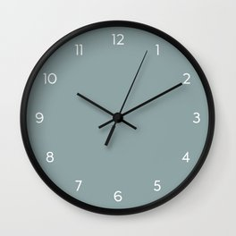Boho Minimal Numbered Wall Clock // 40 Wall Clock