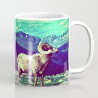 ram Mugs featuring RAM by SPACEZING