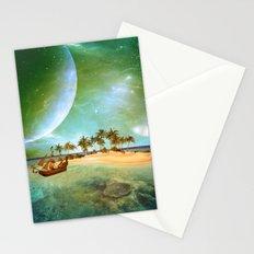 Fantasy seascape Stationery Cards