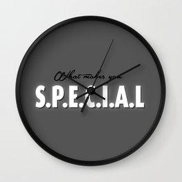 S.P.E.C.I.A.L Wall Clock