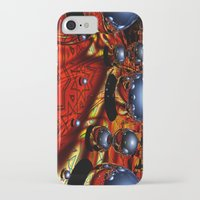 guardians iPhone & iPod Cases featuring Guardians by Robin Curtiss