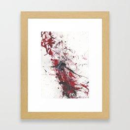 Cracking Backbone Framed Art Print