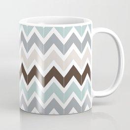 Seaside Chevron Coffee Mug