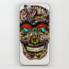 Colorful Skull  iPhone & iPod Skin