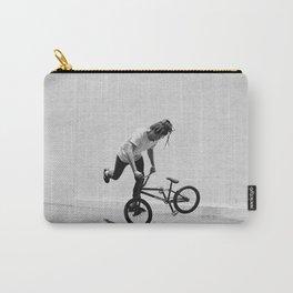 Flatland BMX Rider Carry-All Pouch