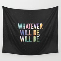 whatever Wall Tapestries featuring Whatever by TheSmallCollective