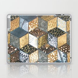 Tumbling Blocks #2 Laptop & iPad Skin
