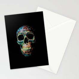 Sugar Skull Color Stationery Cards