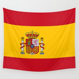 Flag of Spain Wall Tapestry
