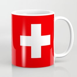 Flag of Switzerland - Swiss Flag Coffee Mug