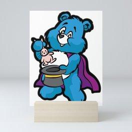 TEDDY BEAR MAGICIAN Wizard Sorcerer Magic Magus Mini Art Print