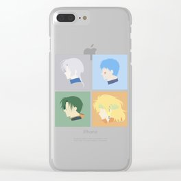 Dragonz Clear iPhone Case