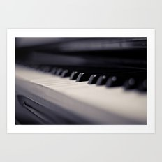 One small key to happiness is to stop and enjoy the music....  Art Print
