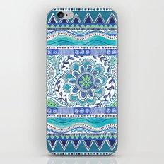Boho Blue iPhone Skin