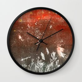 Floating away Wall Clock