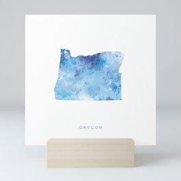 Oregon Mini Art Print