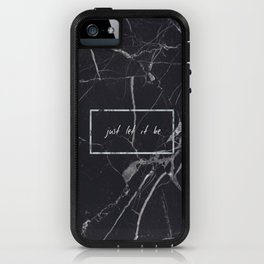Let It Be Phone Case iPhone Case