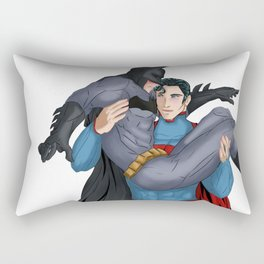 SuperBat - Up, Up, and NO Rectangular Pillow