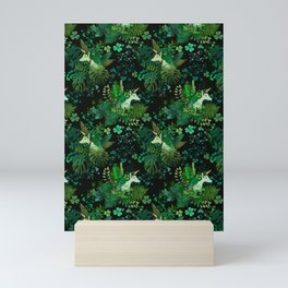 Irish Unicorn Mini Art Print
