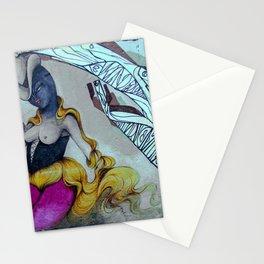 Graffiti scene Stationery Cards