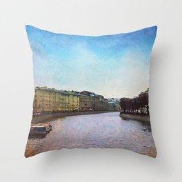 St.Petersburg Throw Pillow