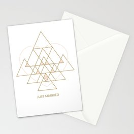 Just Married Stationery Cards
