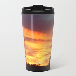 Country Sunset Travel Mug
