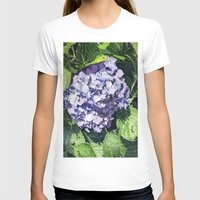 hydrangea T-shirts featuring Hydrangea by Linda Hoover