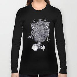 Ribs with peonies Long Sleeve T-shirt