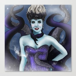 Regal Sea Witch Canvas Print