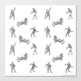 The Secret Life of Bigfoot Canvas Print