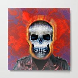 Ghost Rider Metal Print